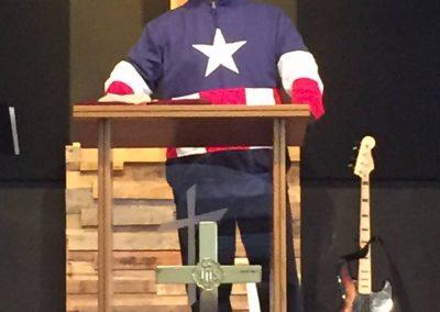 """Pastor Ken """"Who is Your Superhero?"""""""